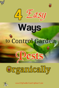 4 Ways to Control Garden Pests Organically Pinterest