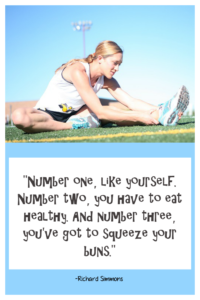Healthy Living Richard Simmons Quote