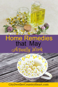 Home Remedies that may actually work